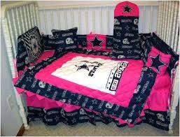 cowboy crib bedding set pink cowboys crib bedding set designs dallas cowboys baby crib bedding set