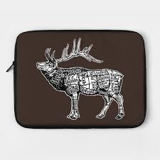 Elk Butcher Chart By Zugart01