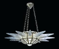 good rock crystal chandelier or style eight light gilt bronze and rock crystal french