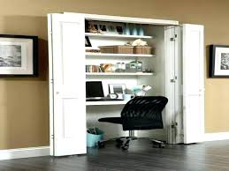 turn closet home office. Full Size Of Office In A Closet Door Sixteen B Turn Home Z