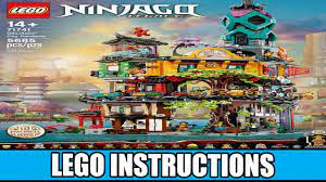 LEGO Instructions 71741 - Ninjago City Gardens (Complete Ninjago  Instructions) - YouTube