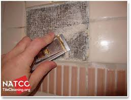 removing thinset from shower wall