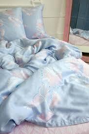 dark purple quilt cover image 0 palm print bedding custom duvet