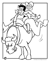 Small Picture Rodeo coloring pages rodeo cowboy coloring page animal jr download