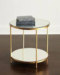 round mirrored side table elegant round mirrored coffee table inspirational best accent tables end tables images round mirrored side table