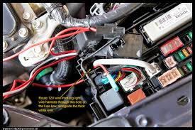 diy how to add aftermarket oem style fog lights to a 2012 3rd gen route the red wire from the 15a inline fuse holder into the fuse box through the