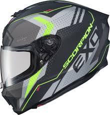 Details About Scorpion Exo R420 Seismic Motorcycle Helmet Matte Hi Vis