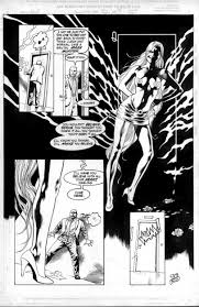 virella 25th anniversary blood red queen page 9 ic art