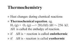 2 first law of thermodynamics enthalpy