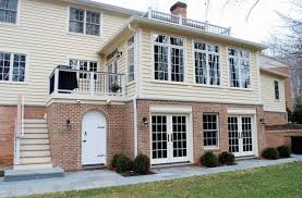 laundry office. 2nd Story Addition, Plus Single Sunroom, Office, Laundry And Mud Rooms, In Potomac, MD. Office