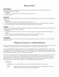 General Resume Objective Examples Inspirational Objective Statement