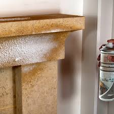 cleaning stone fireplaces