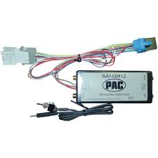 com pac aaigm auxiliary audio input interface for com pac aaigm12 auxiliary audio input interface for select gm trucks automotive