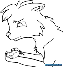 Bold Design Ideas Warrior Cats Coloring Pages Cat Clan For Kids