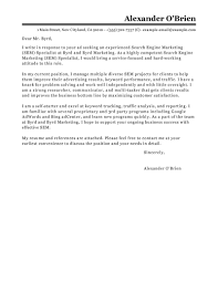 Leading Professional Sem Cover Letter Examples Resources