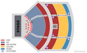 80 Detailed Pechanga Theater Seating Map