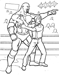 Small Picture Get This Printable wwe coloring pages goldberg 41947