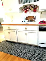 kitchen rugs washable rug runner area charming runners with dark grey color machine cotton