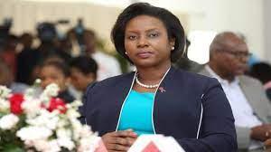 Primera Dama de Haiti, Martine Moise ...