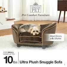 pet snuggle bed ultra plush snuggle dog sofa lucky pet snuggle bed enchanted home pet snuggle pet snuggle bed enchanted home