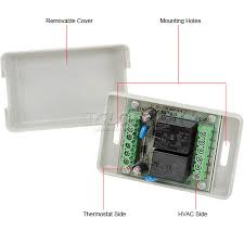 wire thermostat installation images hvac r controls thermostats ecobee power extender kit eb pek 01