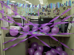 Cubicle Decorations For Birthday Co Worker 30th Birthday Desk Decor Party Pinterest 30th