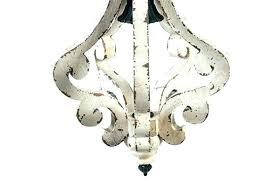 distressed wood chandelier