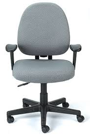desk chairs fabric. Fine Desk Cypher Series Grey Fabric Adjustable Desk Chair By Eurotech Seating Intended Chairs B