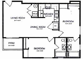2 bedroom 2 bath house plans. Beautiful Bedroom Bedroom 2 Bath Floor Plan Intended House Plans