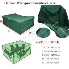 outdoor garden furniture covers. Waterproof Outdoor Furniture Cover For Patio Set Table Garden Chairs Peva 5  Size AN Hot Outdoor Garden Furniture Covers O