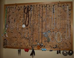 Diy Jewelry Holder Diy Jewellery Organizer