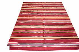 gallerydef php j16904 striped dhurrie oriental rug jpg
