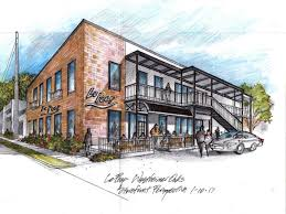 restaurant exterior drawing. Delighful Drawing Le Peep New Location Exterior Drawing Intended Restaurant Exterior Drawing I