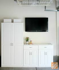 home depot office cabinets. garage storage ideas home depot diy greek key trim adds appeal to update stylist office cabinets u
