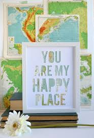 new to typeshy on etsy long distance relationship anniversary gift for him world traveler gift romantic gift idea you are my happy place