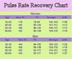 Image Result For Recovery Heart Rate Chart Pulse Rate
