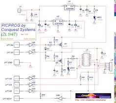 electronic circuit schematics pic micro programmer