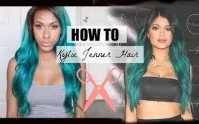 How to: Kylie Jenner Teal Hair Color - Amoy Pitters