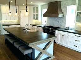white cement countertop cement kitchen white cement concrete countertops