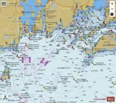 Marthas Vineyard To Block Island Marine Chart