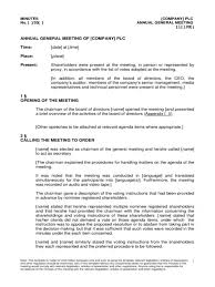 board of directors minutes of meeting template sample corporate minutes of the first meeting board directors form