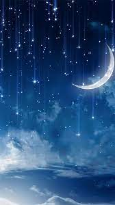 Moon And Stars Wallpaper posted by ...
