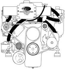 mercruiser parts mercruiser engines sterndrives diagrams mercruiser exhaust manifolds · mercruiser closed cooling systems