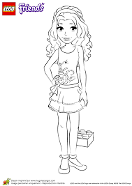 Small Picture Free Lego Friends Coloring Pages Coloring Home