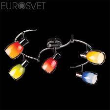 Купить <b>спот Eurosvet</b> (Россия) <b>2606/5 хром</b>.