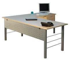 office desk l. metal leg lshape desk office l
