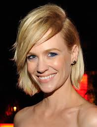 january jones is no 1950s housewife with this look she looks absolutely stunning with this short style if you get bored with your short hair style