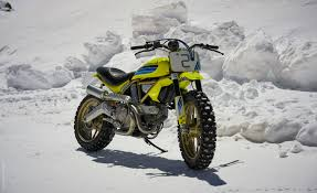 ducati shows custom scramblers at verona motor bike expo news