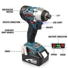 Makita Work Light 18v Energy Tech 18 Volt Brushless Impact Driver 20 Pack 1 4