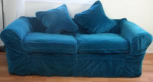 couch covers blue. Beautiful Couch Faded Velvet Loose Covers After Dye Inside Couch Covers Blue S